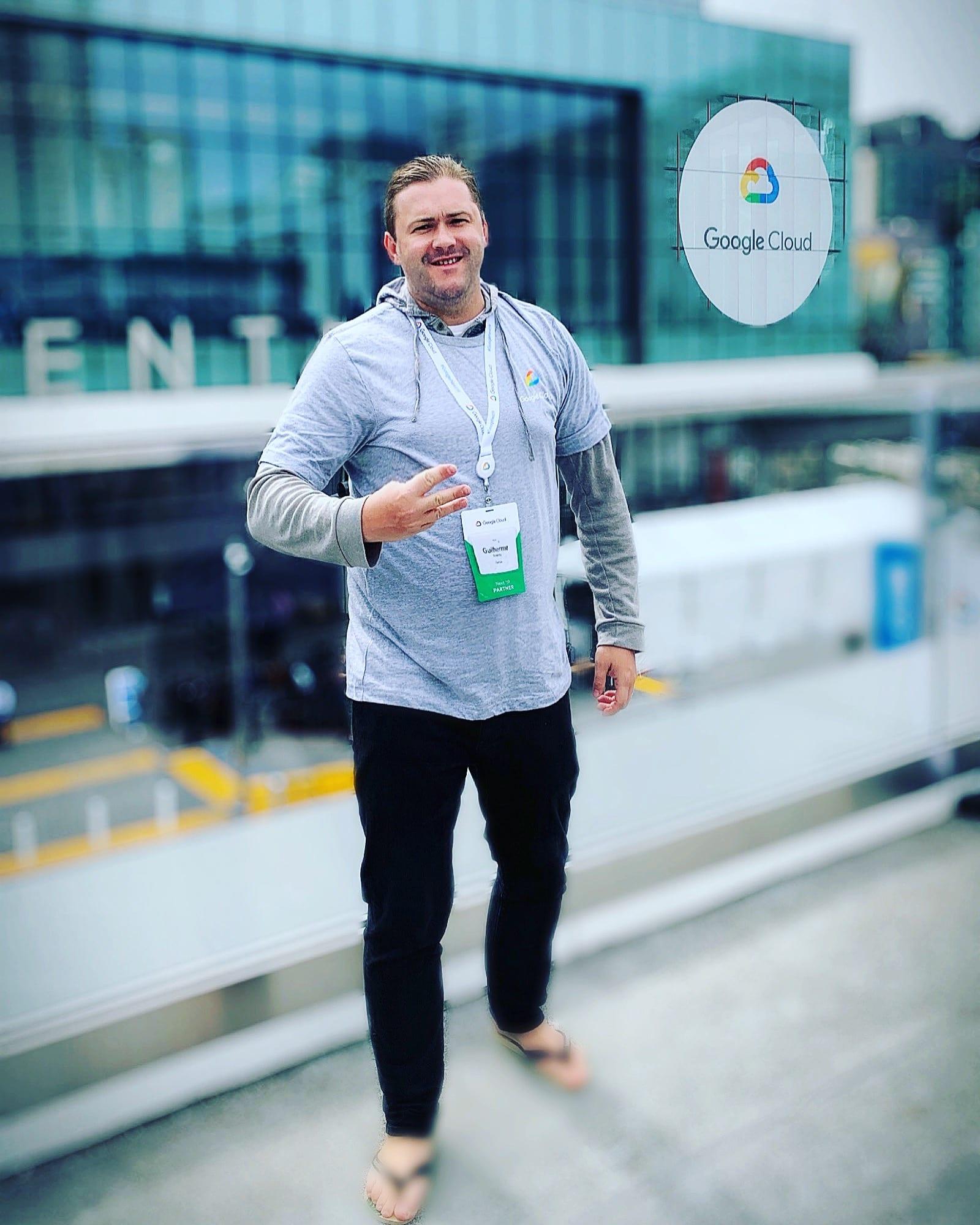 Três partições seguidas no maior evento anual do Google: Next 2019 em San Francisco