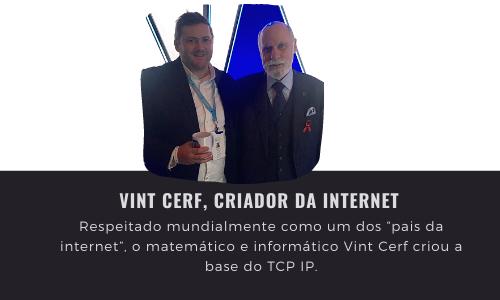 O dia que conheci o inventor da Internet!
